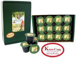 Hawaiian Coffee K Cups Box Of Tullys Hazelnut Cup