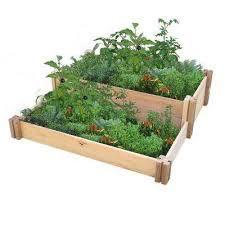 gronomics raised garden beds garden center the home depot