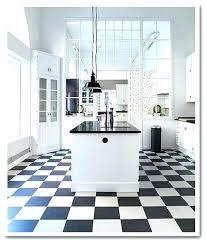 Black And White Vinyl Floor Tiles Linoleum