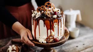 drip cake mit salz karamell