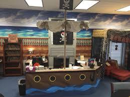 100 Design A Pirate Ship Themed Librarycirculation Desk Transformed Into Pirate Ship