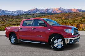 100 Trucks For Sale In Colorado Springs PreOwned 2013 Toyota Tundra 4WD Truck Grade Crew Cab Pickup In