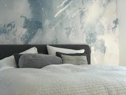im siebten himmel unser schlafzimmer mit aquarelltapete