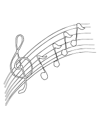 Coloring Pages Of Music Notes Note
