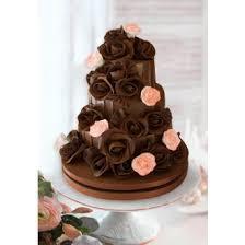 Wedding Cake Chocolate Roses