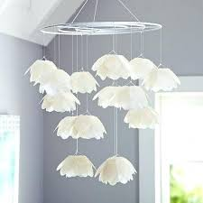How To Make A Paper Chandelier For Kids I Could Totally That Out Of Wire