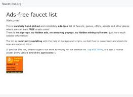 Doge Faucet For Faucethub by Top Btc Sites Rankings Faucets