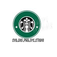Coffee Logo Svg Starbucks File Cricut Cut Rh Etsystudio Com