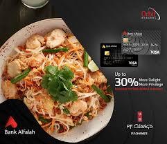 Bank Alfalah - Oriental Food Doesn't Get Better Than P.F. ...