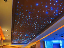 stylish fibre optic lights for ceilings room decors and design