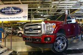 Ford Increases Investment In Kentucky Truck Plant On High Demand ... The Ford Super Duty Is A Line Of Trucks Over 8500 Lb 3900 Kg Motor Co Historic Photos Of Louisville Kentucky And Environs Revs Up Large Suv Production To Boost Margins Challenge Gm Auto Parts Maker Invest 50m In Thanks Part Us Factory Orders 14 Percent September Spokesmanreview Will Temporarily Shut Down Four Plants Including F150 Factory Vintage Truck Plant How Apply For Job All Sizes 1973 Assembly Flickr Photo Workers Get Overtime After Pickup Slows