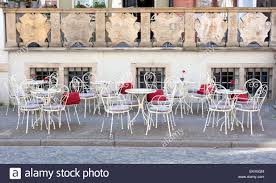 French Style Patio Of A Restaurant - Chairs And Tables On The Street ... Empty Table Chair Restaurant Boost Color Stock Photo Edit Now Ding Set For Dinner Room Small Cherry Style Contemporary Fniture Kids And Cafe Bistro Tables Chairs Droughtrelieforg Modern Industrial Bar Stools Rustic And Flash 36inch Round With Four Products Vector Table Chair Two Flat Icon Isolated Fniture Side Stool Supply Discount Find More For Sale At Up To 90 Coffee Terrace With Classic Shop Blur