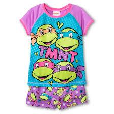 Ninja Turtle Twin Bedding Set by Girls U0027 Teenage Mutant Ninja Turtles Pajamas Ninja Turtles