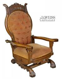 Art Nouveau Carved Oak Rocking Chair, C.1890 | StanleyWeiss.com Details About Copper Grove Taber Oak Carved Rocker Chair 25 X 3350 4 Danish Carved Oak Armchair Dated 1808 Bargain Johns Antiques Victorian Antique Rocking Vintage Childs Rocking Chair Ssr Childs Hand Elephant In So22 Sold Era With Leather 1890s Ornate Lift Glastonbury Armchair 639070 Larkin Soap Company Ribbon Back Wainscot Second Half 17th Century Isolated