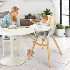 Baby Joy Wooden High Chair Baby Toddler 3 In 1 Convertible Highchair W/  Cushion YellowPinkWhite Wooden High Chair For Babies And Toddlers With Harness Removable Tray Adjustable Legs High Chairs Hedstrom Vintage Convertible Pads Skip Hop Tuo 2in1 Koodi Duo Highchair Rubber Tree Wood 6 Months 3 Years Plan Asunflower In 1 Modern Solution Cushion Feeding Toddlerinfantbaby Childrens Ding Fashion Recall Chairs Room Lovable Jenny Lind For Abiie Beyond With The Perfect Baby Your Or As A Months