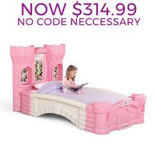 princess palace twin bed kids bed step2