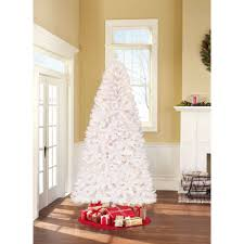 Dunhill Christmas Trees by Holiday Time Pre Lit 7 5 U0027 Berkshire Pine White Artificial