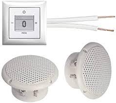 busch jäger unterputz bluetooth radio 8217u alpinweiß komplett set balance si 2 x deckenlautsprecher feuchtraum badezimmer einbaulautsprecher