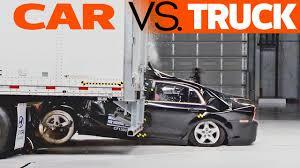 100 Truck Vs Car CRASHES Vs Trailer Underride Testing YouTube