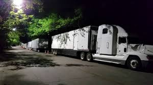 Movie Production Trucks On Euclid Ave In Inman Park - YouTube