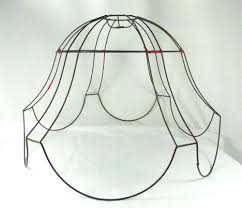 Uno Fitter Replacement Lamp Shade by Lamp Shade Wire Frame Vintage Antique For Floor Lamp Very Huge