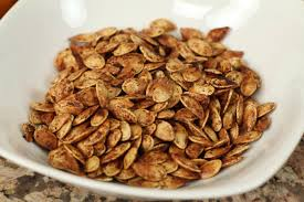 Roasted Shelled Pumpkin Seeds Nutrition by Roasted Pumpkin Seeds With Cinnamon Sugar U0026 Coconut Oil By