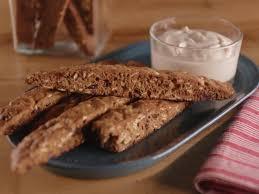 Bobby Flay Pumpkin Pie With Cinnamon Crunch by Cinnamon Maple Oat Biscotti With Yogurt Dip Recipe Biscotti