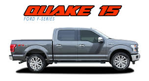 QUAKE 15 PACKAGE | Ford F150 Stripes | F150 Decals | F150 Vinyl Graphics 2015 2016 2017 2018 2019 Ford F150 Stripes Lead Foot Special Is The Motor Trend Truck Of Year 52019 Torn Bed Mudslinger Style Side Vinyl Wraps Decals Saifee Signs Houston Tx Racing Frally Split Amazoncom Rosie Funny Chevy Dodge Quote Die Cut Free Shipping 2 Pc Raptor Side Stripe Graphic Sticker For Product Decal Sticker Stripe Kit For Explorer Sport Trac Rad Packages 4x4 And 2wd Trucks Lift Kits Wheels American Flag Aftershock Predator Graphics Force Two Solid Color 092014 Series