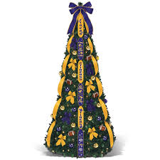 LSU Tigers Christmas Tree