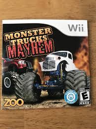 100 Monster Truck Mayhem Find More S Wii Game Wsteering Wheel For Sale