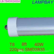 8 led 8ft single pin t8 fa8 single pin led lights 40w