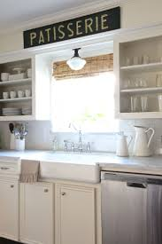 backsplash over kitchen sink ideas best kitchen soffit ideas