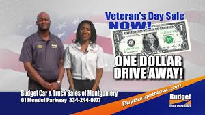 BUDGET CAR AND TRUCK SALES MONTGOMERY BMOT 13222 VETS DAY 2016 ...
