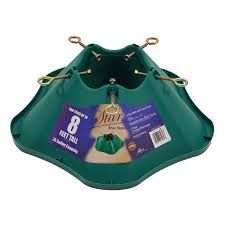 Artificial Christmas Tree Stand Walmart by Shop Christmas Tree Skirts U0026 Stands At Lowes Com