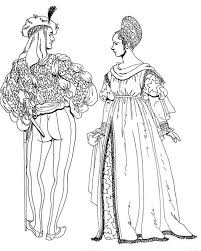 Renaissance Florence Italy Coloring Pages