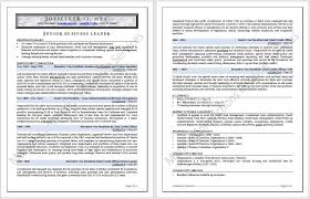 Executive Resume Writing Service New Cutting Edge Industry Specific Samples Certified Of