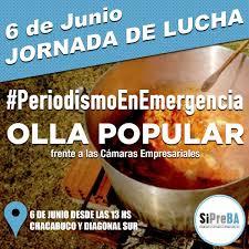 6 De Junio Periodismo En Emergencia Indymedia Argentina