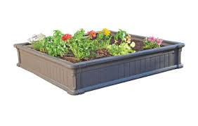 Amazon Lifetime Raised Garden Bed 4 by 4 Feet 1 Bed