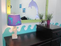 Girls Dolphin Room This Is A I Did For My Loving Girl 9 Year Old Fin Person If It Has Fins And Swims In The