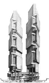 100 Architect Paul Rudolph Fortress Graphicine