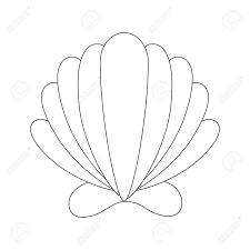 100 Sea Shell Design Sea Shell Isolated Icon Vector Illustration Design