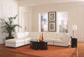 Transitional Living Room Furniture Sets by Coaster Quinn Transitional Modular Sectional Sofa Coaster Fine