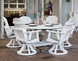 60 Poly Lumber Garden Classic Dining Table And Chair Set