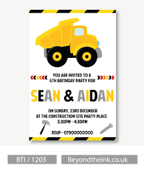 Personalised JCB Tow Truck Invitation | Beyond The Ink 9 Of The Best Kids Birthday Party Ideas Gourmet Invitations Cstruction Invite Dumptruck Invitation 5x7 Free Printable Cstruction Invitations Idevalistco Tandem Dump Trucks For Sale Also Truck Safety Procedures And Gmc 25 Digger Fill In 8th Card Luxury Boy Tonka Classic Toy Amazoncouk Toys Games Transportation Train Invite Car Play Everyday Mom