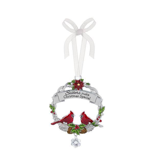 Ganz Christmas Cardinal Ornament - Sisters Make Christmas Special