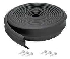 M D Building Products 3749 Garage Door Bottom Rubber 16 Feet