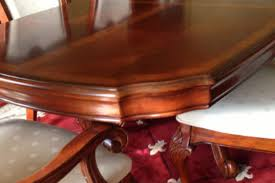 10 PIECES Like New High End Dining Table ChairsBuffet