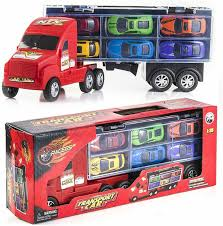 100 Toy Car Carrier Truck Prextex 15 Rier Transporter Includes 6 Metal S For Boys