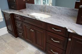 coastal home his master bath vanity eclectic bathroom