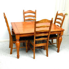Farmhouse Style Dining Table Chairs Set By Signature Furniture
